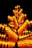 Papierlampe, Laternefestival Lizenzfreie Stockbilder