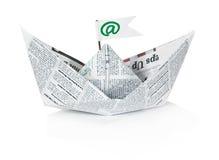 Papierlieferung Lizenzfreies Stockfoto