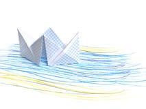 Papierlieferung vektor abbildung