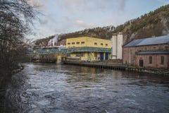 Papiermühle Saugbrugs (altes Ankers) stockfoto