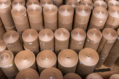 Papiermühlefabrik Stockfoto