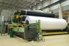 Papiermaschine Stockbild
