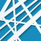 Papiermuster von Linien Stockfoto