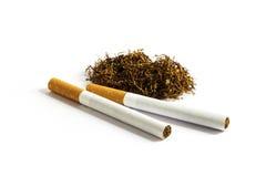 Papieros 1 i tytoń Obrazy Stock