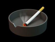 Papieros na ashtray royalty ilustracja