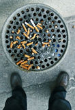 papierosowa końcówka Zdjęcie Stock