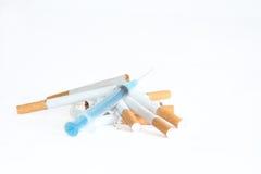 papierosowej końcówka pięść Fotografia Stock