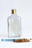 papierosowy butelka tytoń Obraz Stock