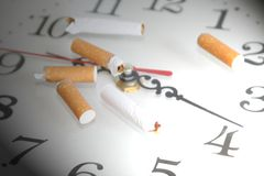 papierosowy butelka tytoń Zdjęcia Royalty Free