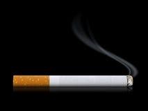 papierosowy dymienie Obraz Stock