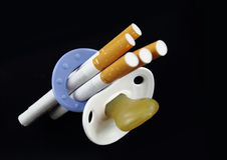 papierosowy maternity fotografia stock