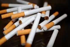 papierosu rozsypisko Zdjęcie Royalty Free