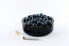 papierosy pojęcie je zapominają owoc Zdjęcia Stock