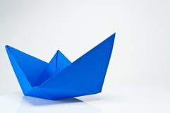 Papierowa łódź obrazy royalty free