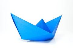 Papierowa łódź Obraz Royalty Free
