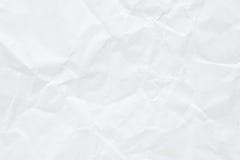 Papierowa biała tekstura Obraz Royalty Free