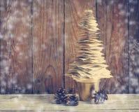 Papierowa Bożenarodzeniowego tree/bożych narodzeń dekoracja Zdjęcia Royalty Free