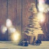 Papierowa Bożenarodzeniowego tree/bożych narodzeń dekoracja Obrazy Stock