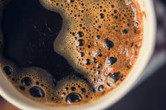 Papierowa filiżanka gorąca kawa Zdjęcie Royalty Free