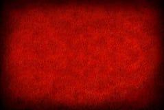 papierowa grunge czerwień Fotografia Royalty Free