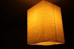 Papierowa lampa Obraz Royalty Free