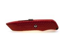 papierowa nóż czerwień Zdjęcie Stock