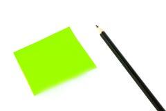 papierowa ołówkowa poczta Obraz Stock