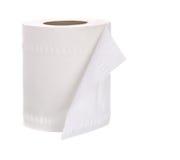 papierowa rolki toaleta Zdjęcia Royalty Free