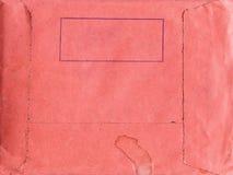 papierowa tło czerwień Obrazy Royalty Free