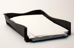 papierowa taca Obrazy Stock