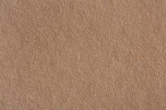 Papierowa tekstura, brown papieru prześcieradło Obrazy Royalty Free