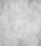 Papierowa tekstura - zmięta siwieje papier Zdjęcie Royalty Free