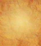 Papierowa tekstura - zmięty brown papier Obraz Royalty Free