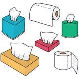 papierowa tkanka ilustracji