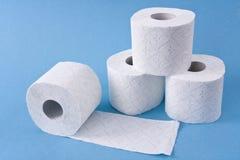 papierowa toaleta zdjęcia stock