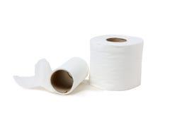 papierowa toaleta Zdjęcie Stock