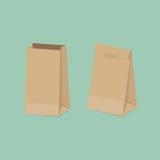 Papierowa torba Zdjęcia Stock