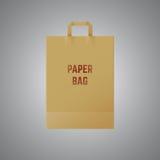 Papierowa torba Fotografia Stock
