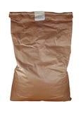 Papierowa torba odizolowywająca - brąz Obraz Stock
