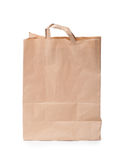 papierowa torba z rękojeścią Zdjęcie Stock