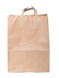 papierowa torba z rękojeścią Obrazy Stock