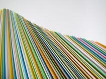 papierowe fala Obrazy Stock