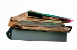 Papierowe falcówki Zdjęcia Stock