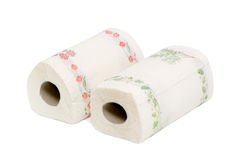 papierowe ręczniki Obraz Stock