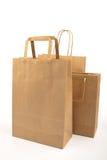Papierowe torby Fotografia Stock