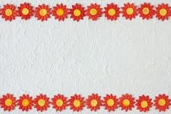 Papierowego kwiatu wzór Obrazy Royalty Free