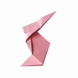 Papierowego origami handmade królik Obraz Royalty Free