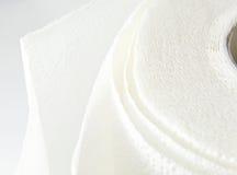 papierowego ręcznika biel zdjęcie royalty free