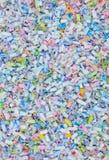 Papierowego rozdrabniacza tła wzoru tekstury abstrakt Obrazy Royalty Free