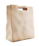 Papierowego rynku torba. 3D ikona odizolowywająca Fotografia Royalty Free